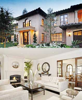 Kim kardashian 39 s house in beverly hills california - Celebrities live small old stylish homes ...