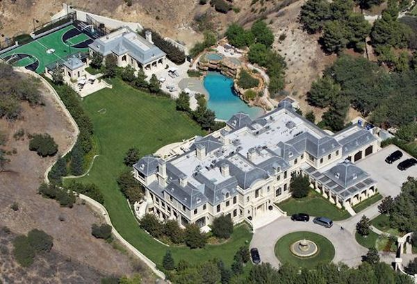 Celebrity has biggest house