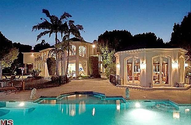Martin Lawrence S Home In Beverly Hills Ca